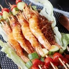 香烤醉虾的做法