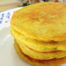 粗粮豆渣饼的做法