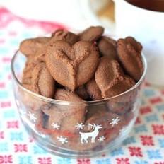 巧克力心形饼干