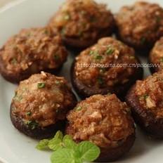 香菇釀肉的做法