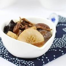 排骨菌汤的做法