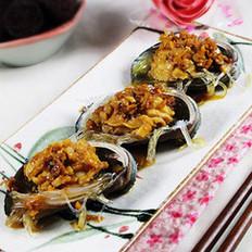 蒜茸粉丝蒸鲍鱼的做法