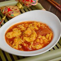 番茄酱炒蛋的做法