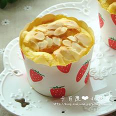 杏仁海绵纸杯蛋糕的做法