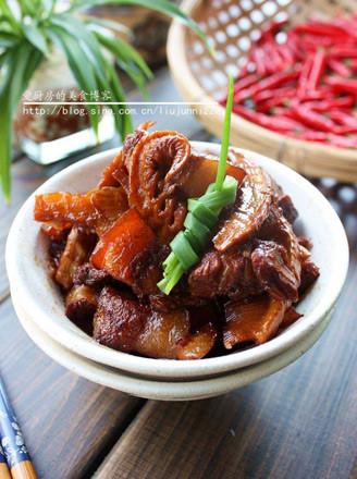 笋干烧五花肉的做法