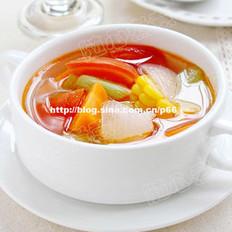 蔬菜瘦身汤的做法