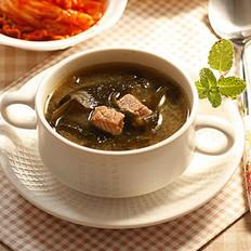 牛肉海带汤的做法
