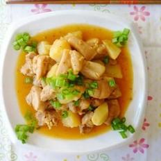 香辣土豆烧鸡腿的做法
