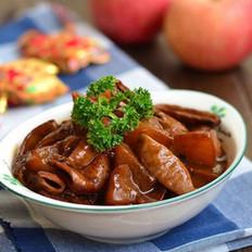蘿卜燜驢腸的做法