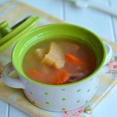 粉葛红萝卜龙骨汤