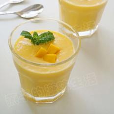 芒果酸奶昔的做法
