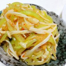 莴笋拌辣白菜