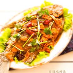 金橘烧鲳鱼