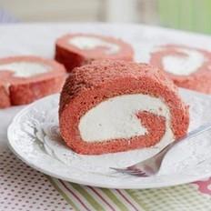 红曲蛋糕卷