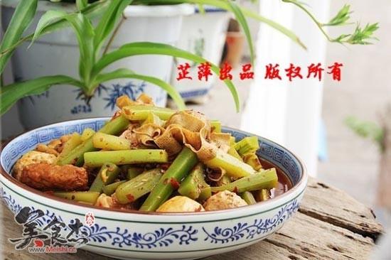 青笋香锅的做法 青笋香锅怎么做