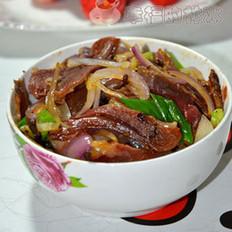洋葱炒核桃肉