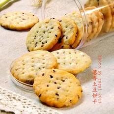 葱香土豆饼干