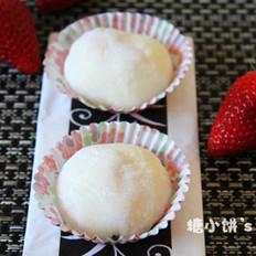 草莓雪梅娘的做法