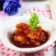 茄汁萝卜花的做法