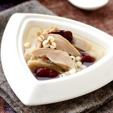 薏米腐竹煲猪肚的做法