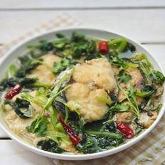 小白菜炖鲅鱼