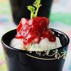 草莓山药泥