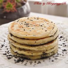 黑芝麻酥饼的做法