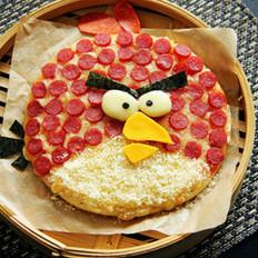 愤怒的小鸟披萨的做法