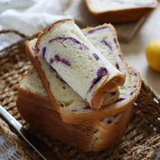 紫薯土司的做法