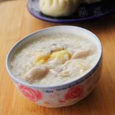 腐皮白果猪肚粥的做法