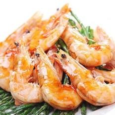 甜辣酱炒鲜虾的做法
