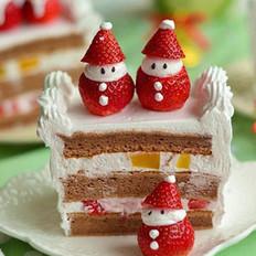 圣诞小雪人蛋糕