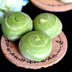红枣燕麦馅绿茶酥