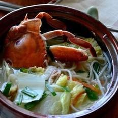 家常螃蟹煮粉干的做法