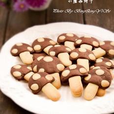 小蘑菇黄油饼干