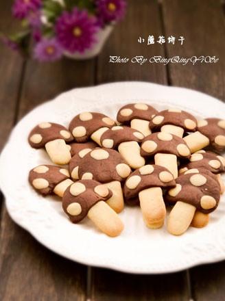 小蘑菇黄油饼干的做法