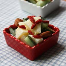 苹果青瓜沙拉的做法