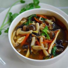 酸辣蘑菇汤的做法