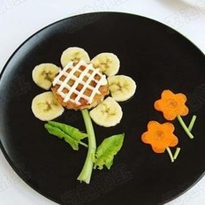 向日葵米饼的做法