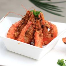 蒜香金沙虾