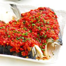 鲜辣剁椒鱼头的做法
