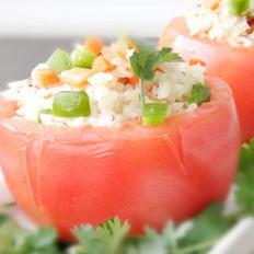 烤酿番茄的做法