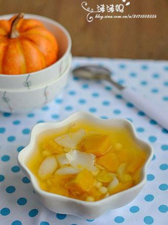南瓜薏米百合糖水的做法