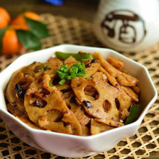 豆豉爆炒脆藕的做法