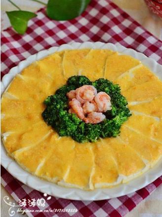 金沙虾球豆腐的做法
