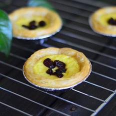 飞饼版葡式果味蛋挞的做法