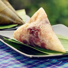 蜜枣红豆花生粽的做法