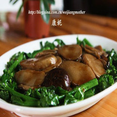 紅燒雙菇的做法
