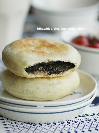 黑芝麻发面糖饼的做法