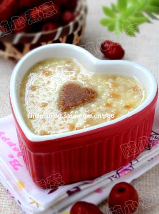 枣泥小米粥的做法